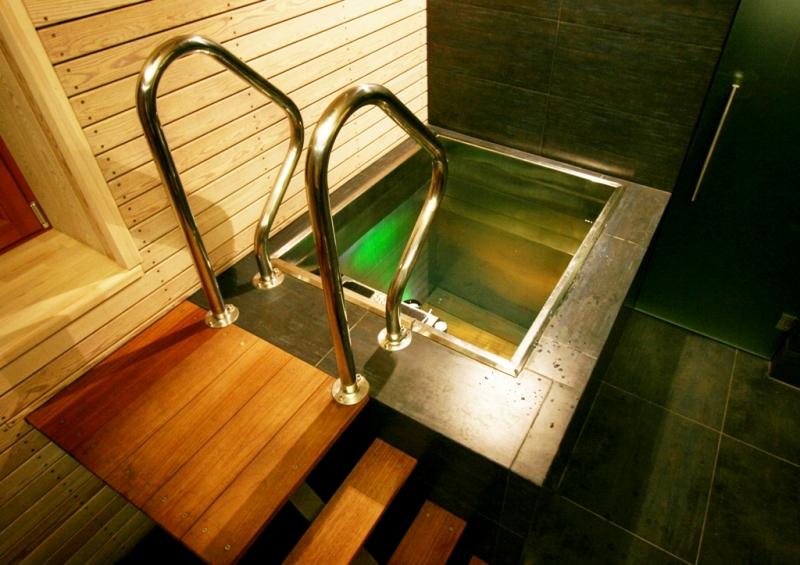 Inoxpool купели для бани и спа бассейны